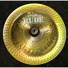 Paiste 18in Rude Classic China Cymbal