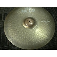 Paiste 18in Rude Classic Crash Ride Cymbal