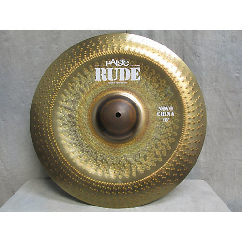 Paiste 18in Rude Novo China Cymbal