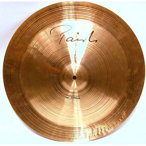 used paiste 18in signature precision china cymbal 38 guitar center. Black Bedroom Furniture Sets. Home Design Ideas