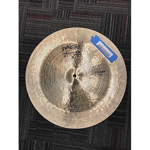 Paiste 18in Twenty China Cymbal