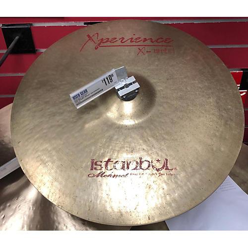 Istanbul Mehmet 18in XPERIENCE X METAL CRASH Cymbal