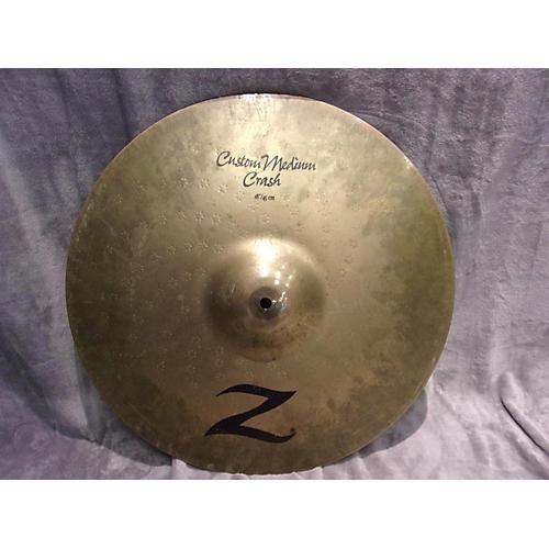 Zildjian 18in Z CUSTOM MEDIAM Cymbal