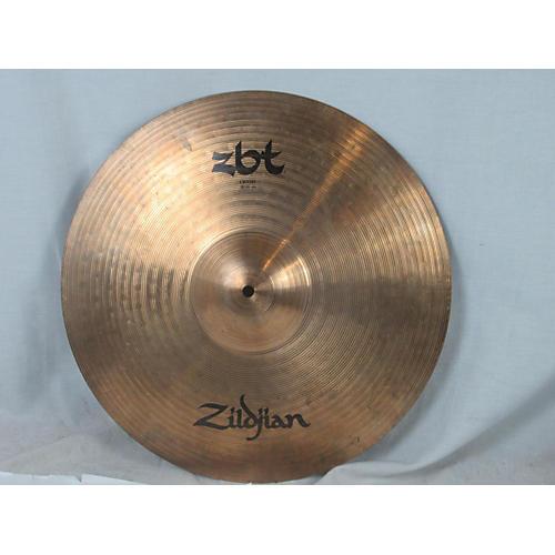 used zildjian 18in zbt crash cymbal 38 guitar center. Black Bedroom Furniture Sets. Home Design Ideas