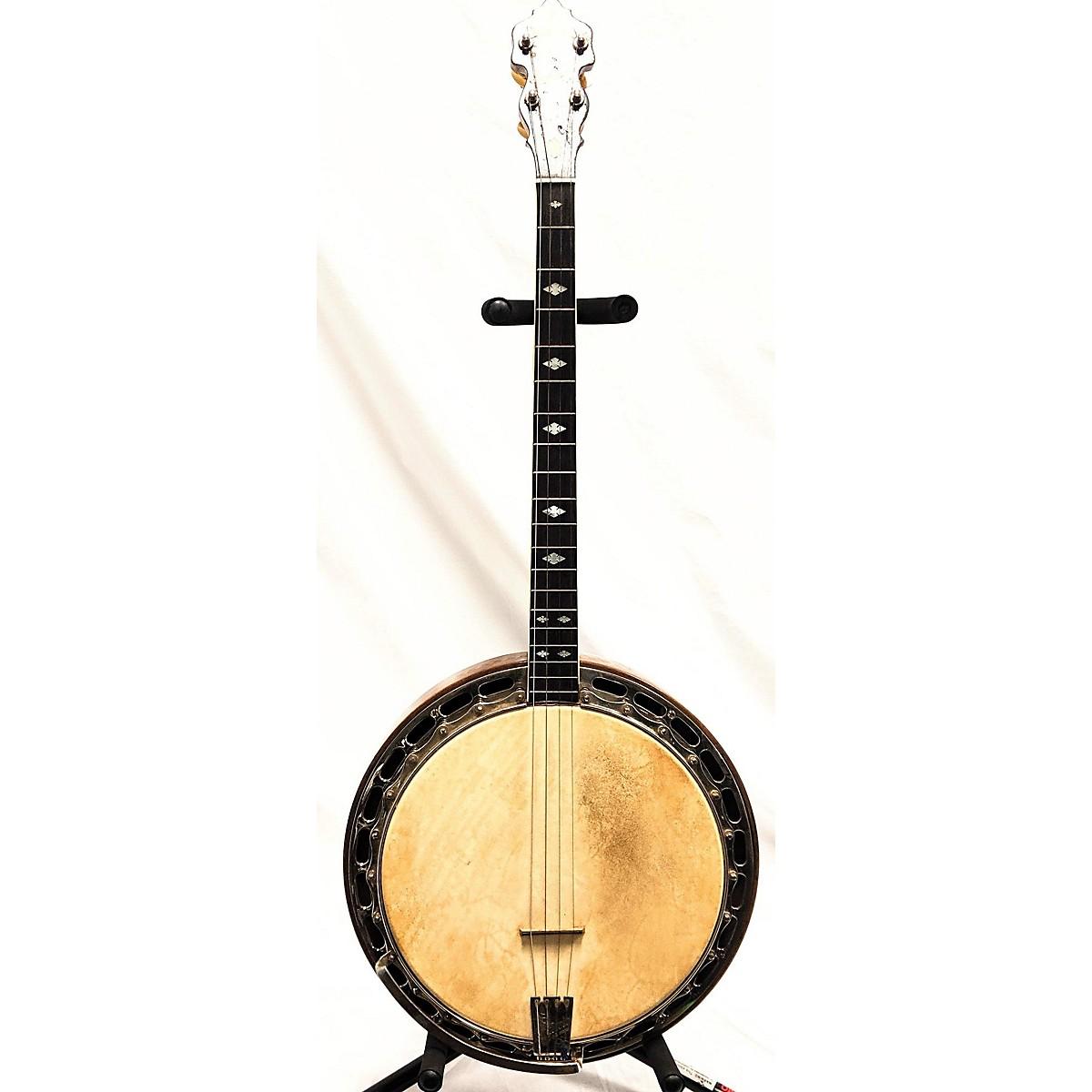 Ludwig 1920s 1920's Kingston Tenor Banjo Banjo