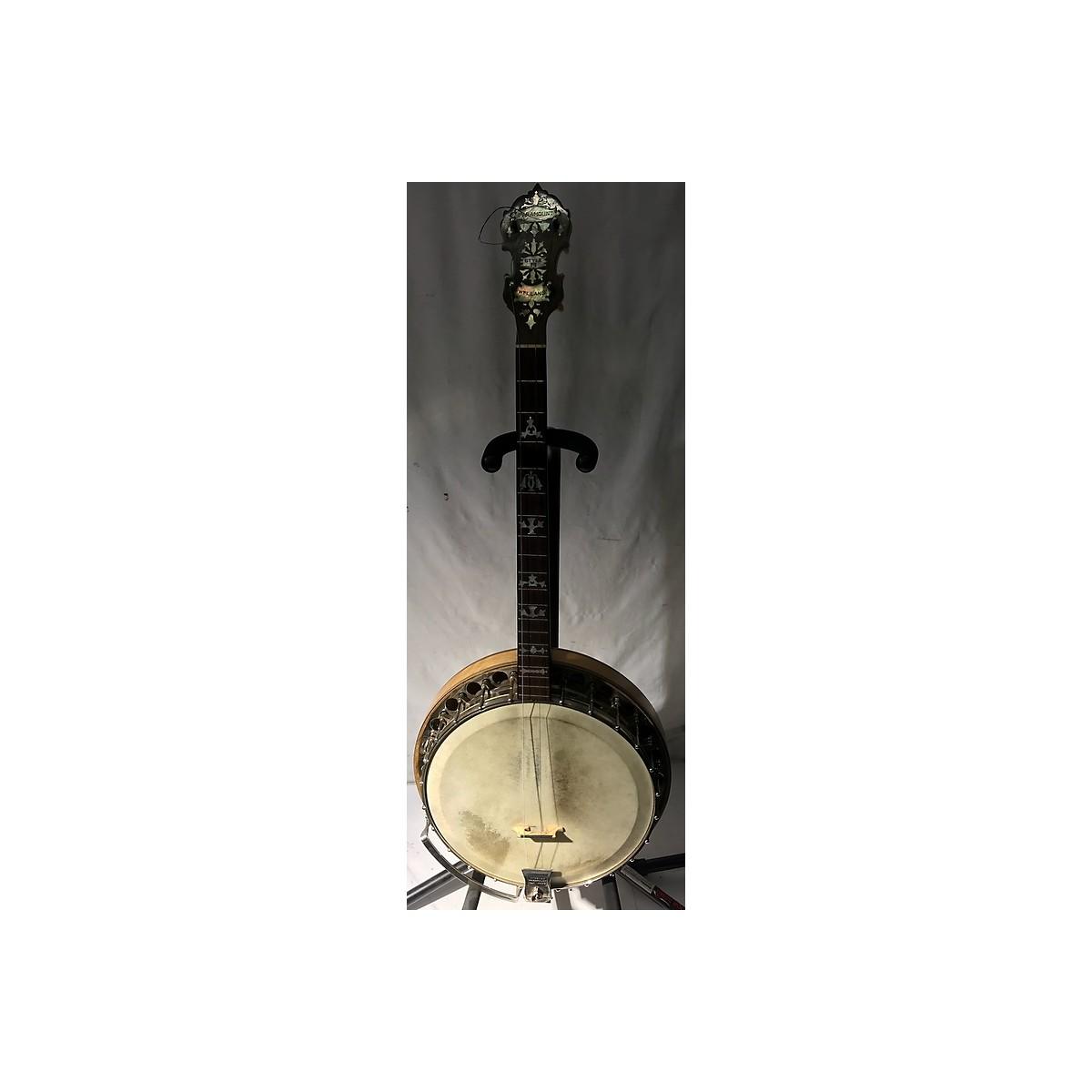 Paramount 1920s 1920's WM Lange Paramount Style B Tenor Banjo Banjo