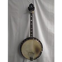 Paramount 1920s Blue Banner Tenor Banjo