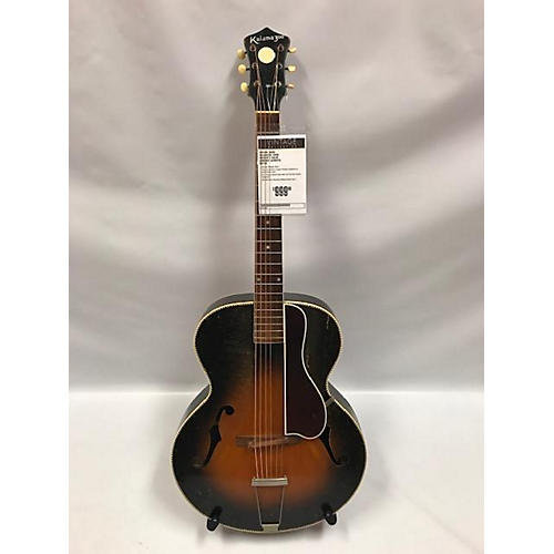 vintage kalamazoo 1930s 1930s archtop acoustic guitar 2 color sunburst guitar center. Black Bedroom Furniture Sets. Home Design Ideas