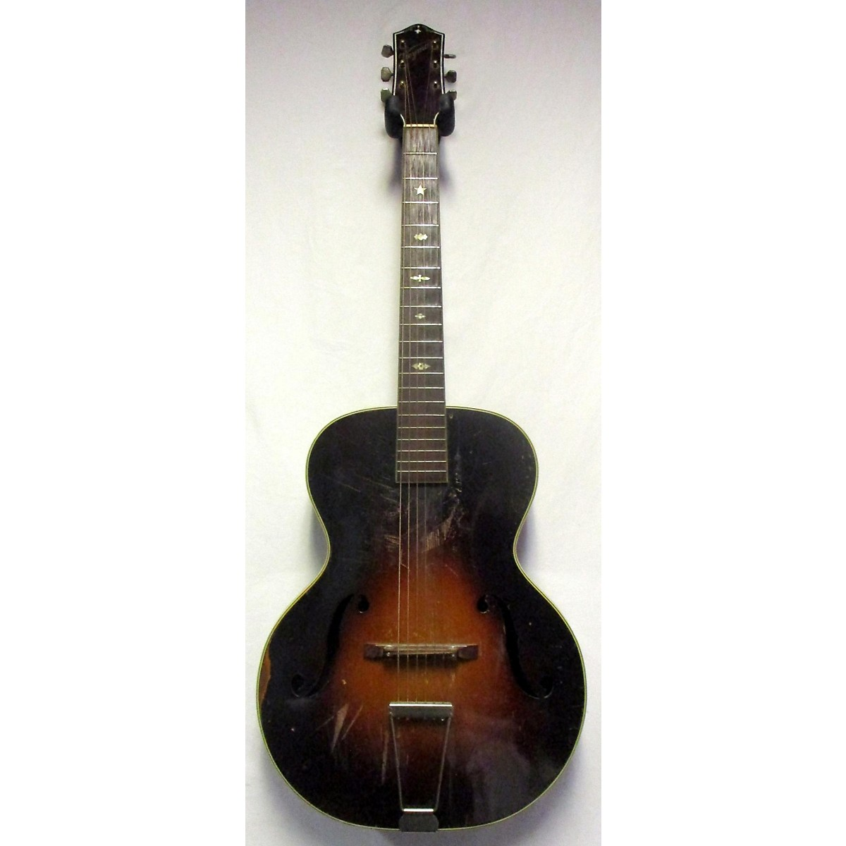 Weymann 1930s ACOUSTIC ARCHTOP Hollow Body Electric Guitar