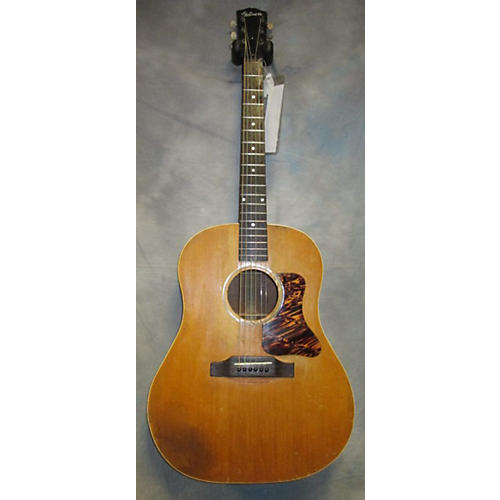 Vintage Gibson 1930s J35 Replaced Bridge And Tuners Acoustic