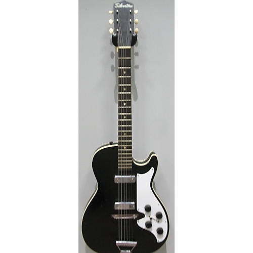 Silvertone 1950s 1420 Solid Body Electric Guitar