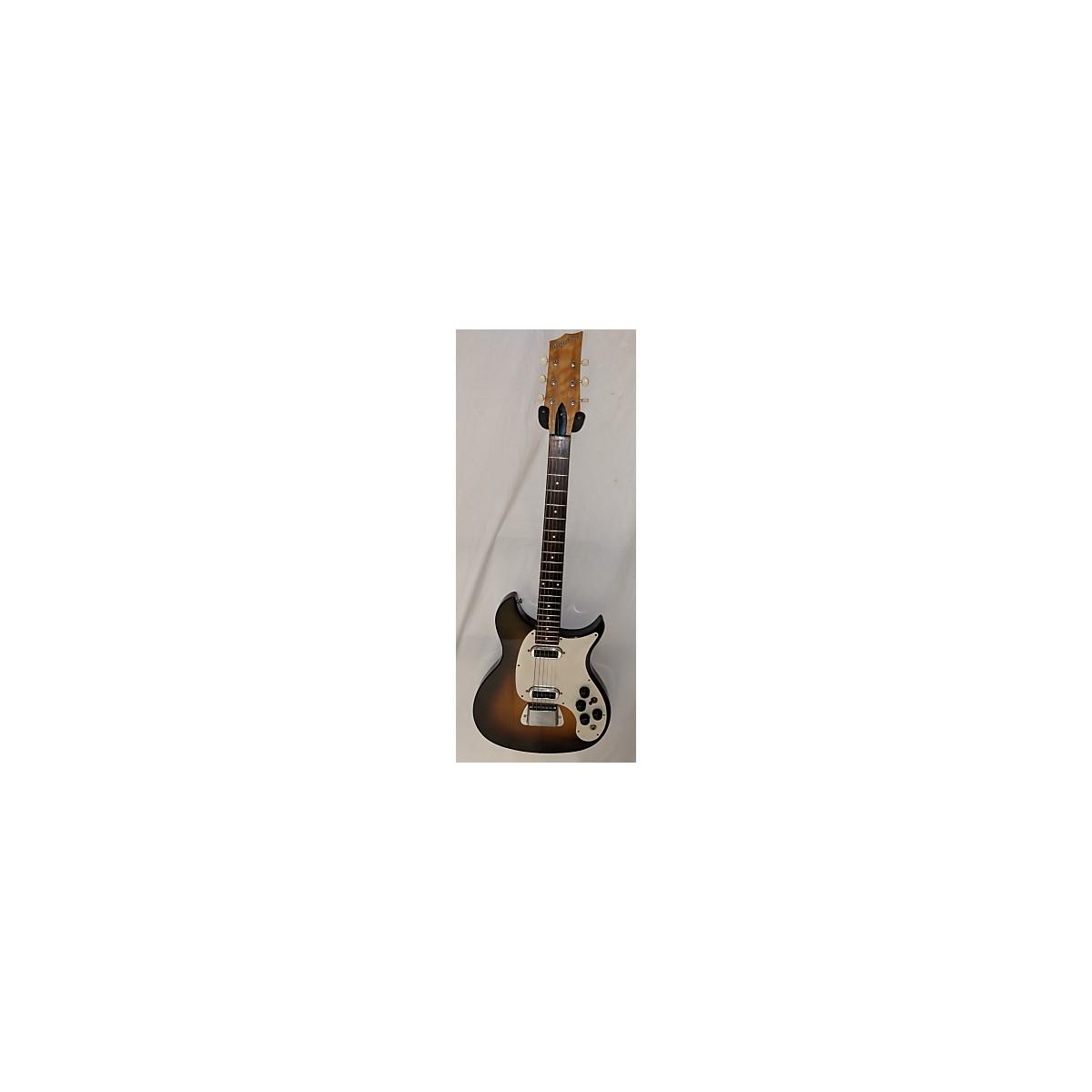 Magnatone 1950s 1950's Magnatone Mark VIII Sunburst Solid Body Electric Guitar