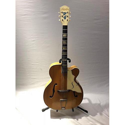 Silvertone 1950s 1950's Silvertone 674 Aristocrat Natural Acoustic Guitar