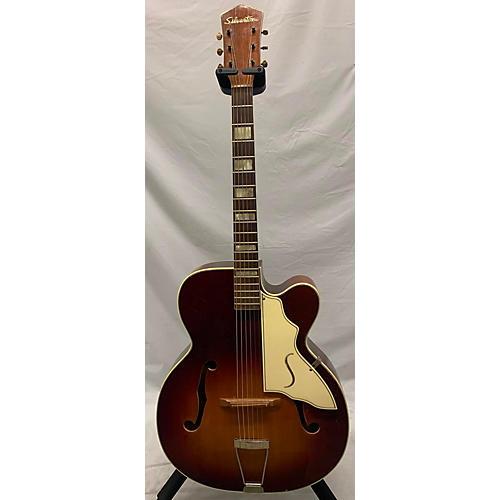 Silvertone 1950s Aristocrat Acoustic Guitar