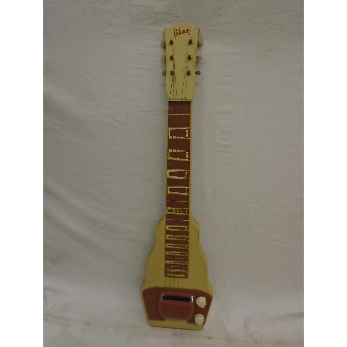 Gibson 1950s BR9 Lapsteel And Amp Lap Steel