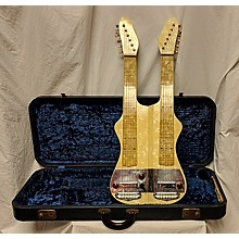 Oahu 1950s Double Neck Slide Guitar Solid Body Electric Guitar