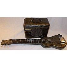 Oahu 1950s Lap Steel With Matching Amp Solid Body Electric Guitar