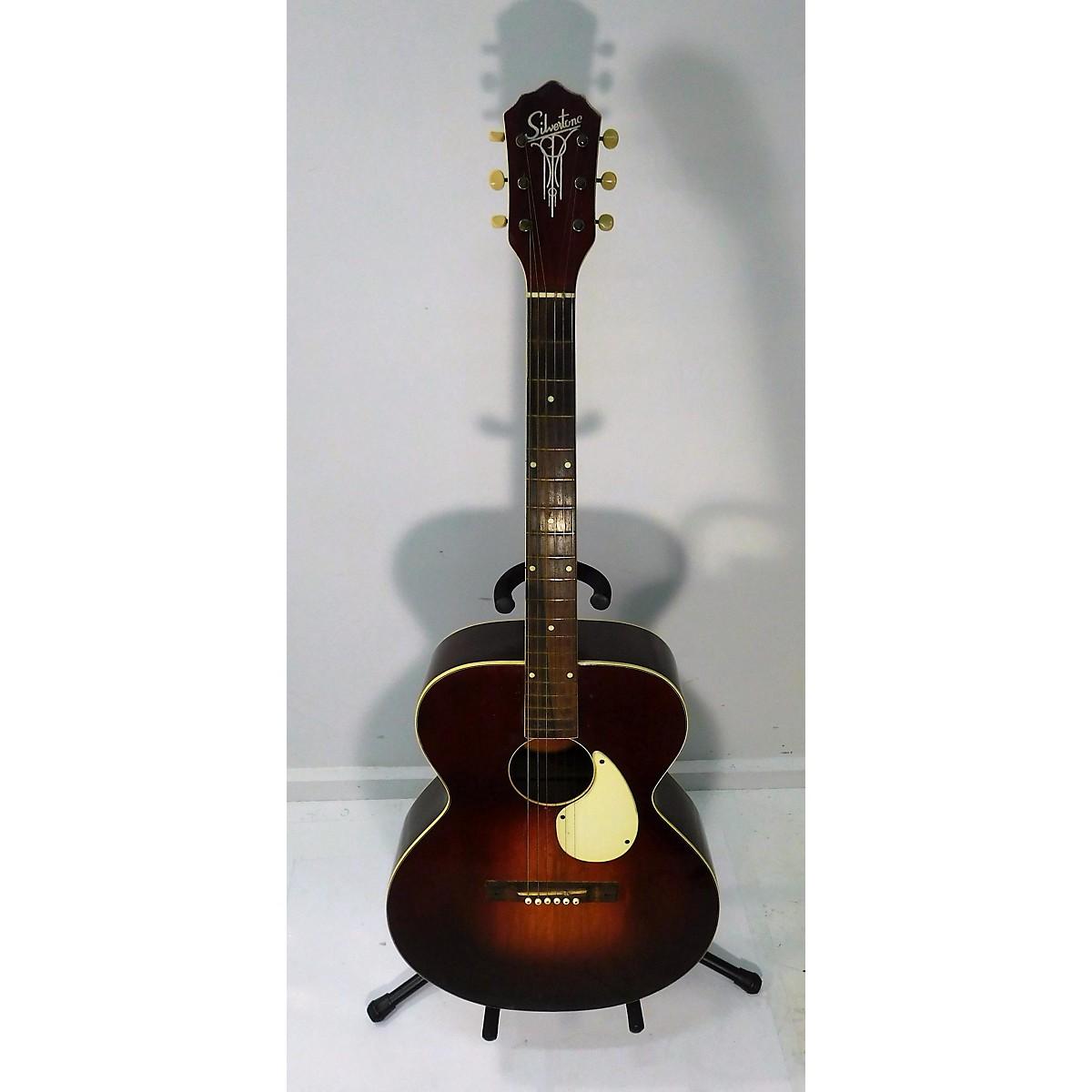 Silvertone 1950s Master Acoustic Guitar