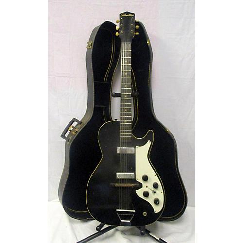 Silvertone 1950s Model 1420 Solid Body Electric Guitar