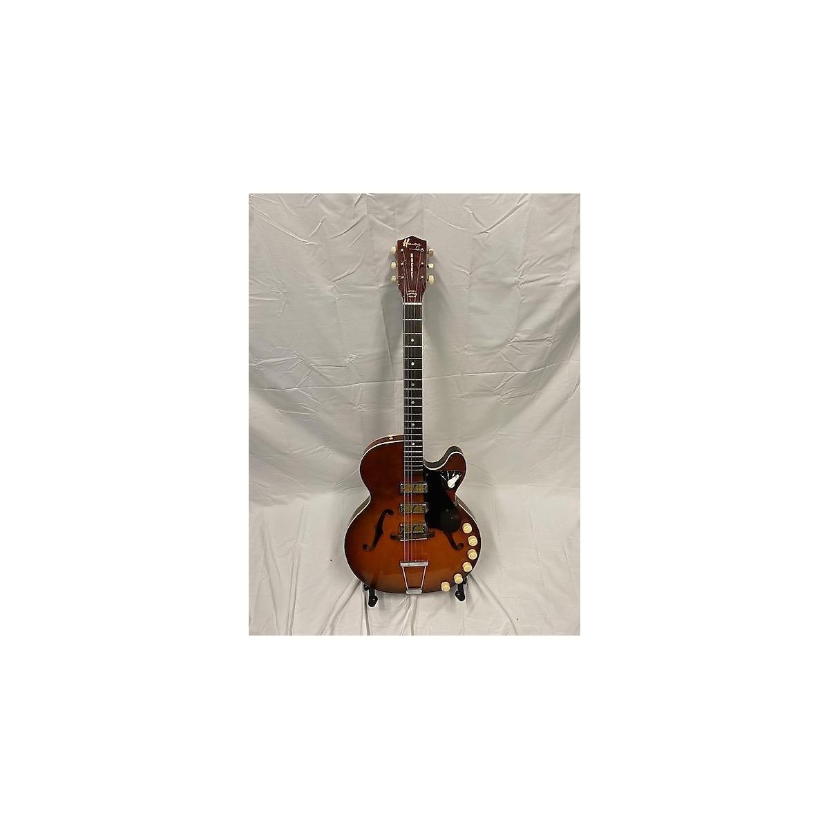 Harmony 1950s Rocket III Hollow Body Electric Guitar