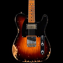 1951 Heavy Relic HS Telecaster Electric Guitar Wide Fade 2-Color Sunburst