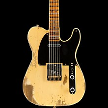 Fender Custom Shop 1951 Heavy Relic Telecaster Maple Fingerboard Electric Guitar Faded Nocaster Blonde