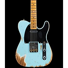 1952 Telecaster Heavy Relic Electric Guitar Daphne Blue
