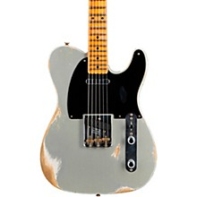 1952 Telecaster Heavy Relic Electric Guitar Inca Silver