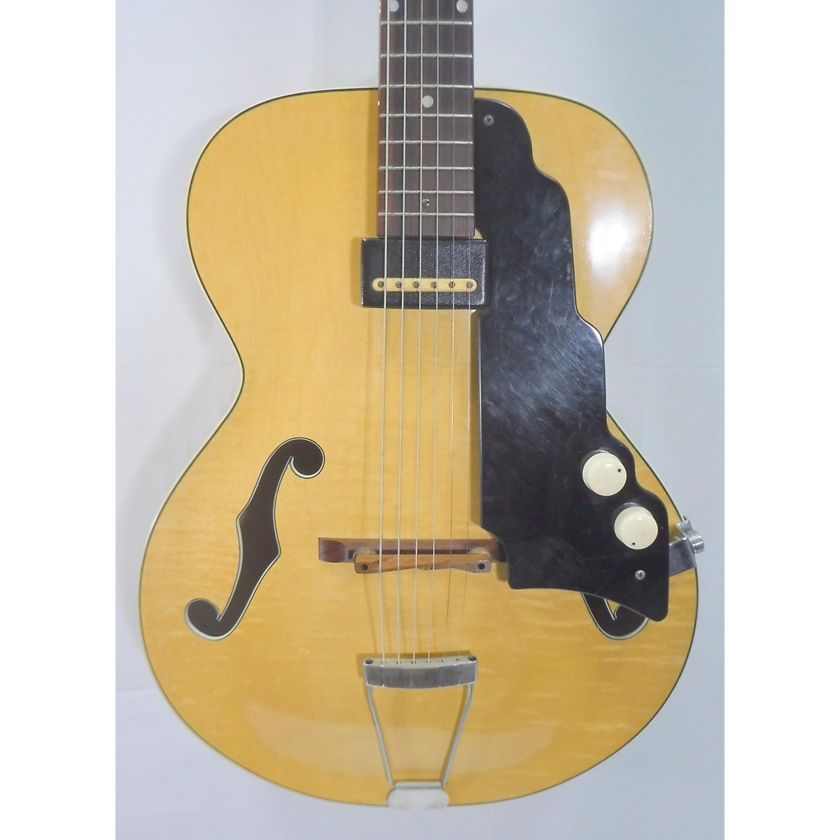 National 1953 New Yorker Spanish Hollow Body Electric Guitar