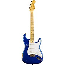 1954 Heavy Relic Stratocaster Electric Guitar Cobalt Blue Metallic