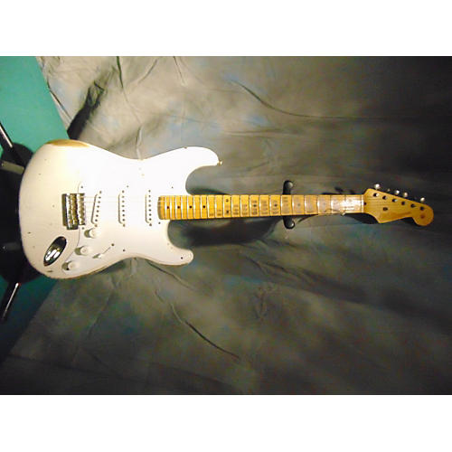 Fender 1954 Heavy Relic Stratocaster White Blonde Solid Body Electric Guitar