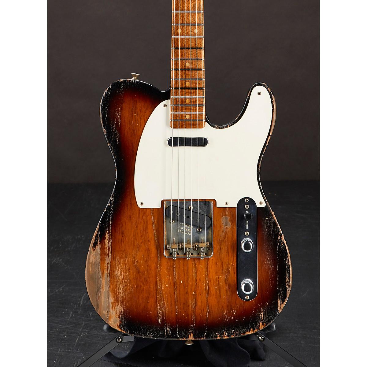 Fender Custom Shop 1955 Telecaster Relic Roasted Ash Electric Guitar Masterbuilt by Greg Fessler