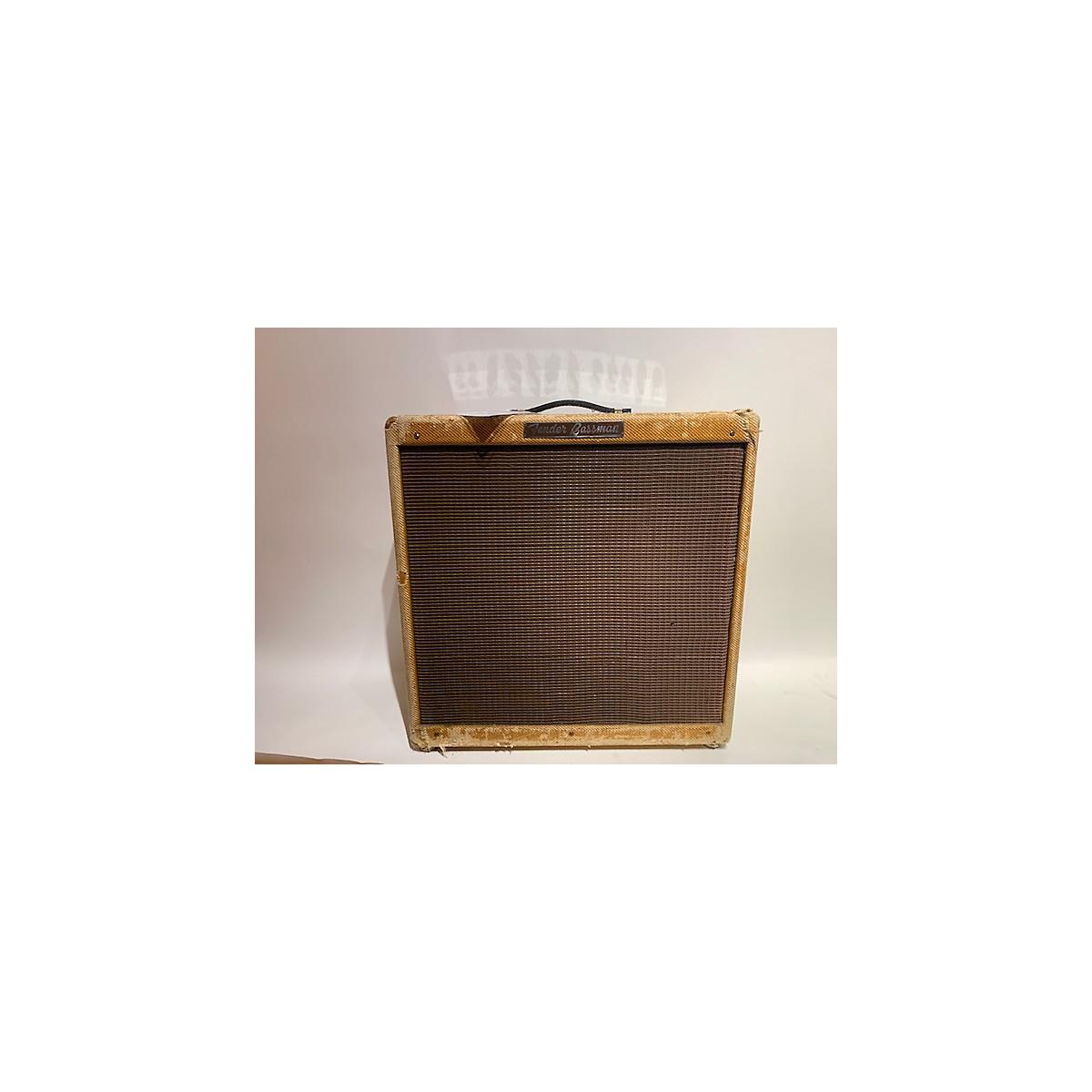 Fender 1956 Bassman Tweed Tube Guitar Combo Amp