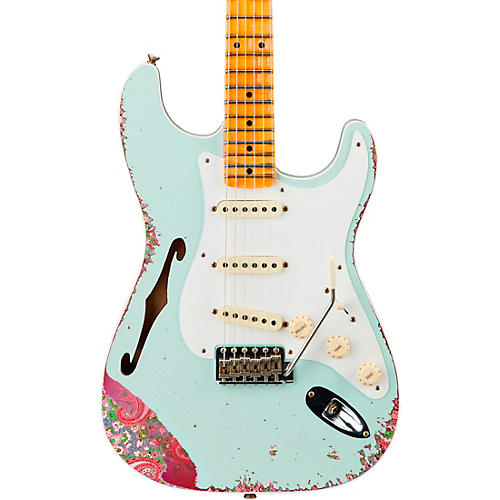 Fender Custom Shop 1956 Heavy Relic Thinline Stratocaster Electric Guitar