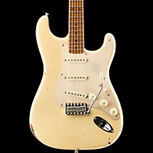 Fender Custom Shop 1956 Relic Roasted Stratocaster  - Custom Built - Namm Limited Edition Aged Vintage White