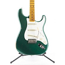 1956 Stratocaster Relic with Closet Classic Hardware Electric Guitar Aged Sherwood Green Metallic