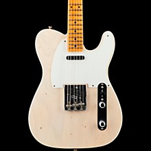 1956 Telecaster Journeyman Maple Fingerboard Electric Guitar Aged White Blonde