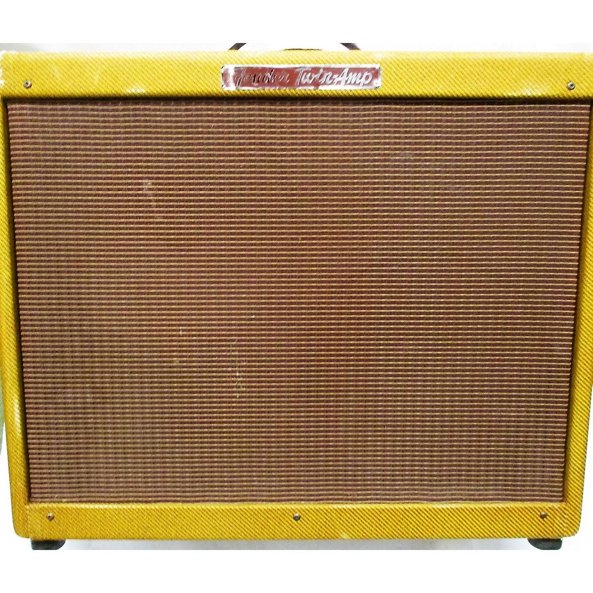 Fender 1956 Tweed Twin Tube Guitar Combo Amp