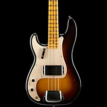 Fender Custom Shop 1957 Journeyman Relic Left Handed Precision Bass, Maple Fingerboard Wide Fade 2-Color Sunburst