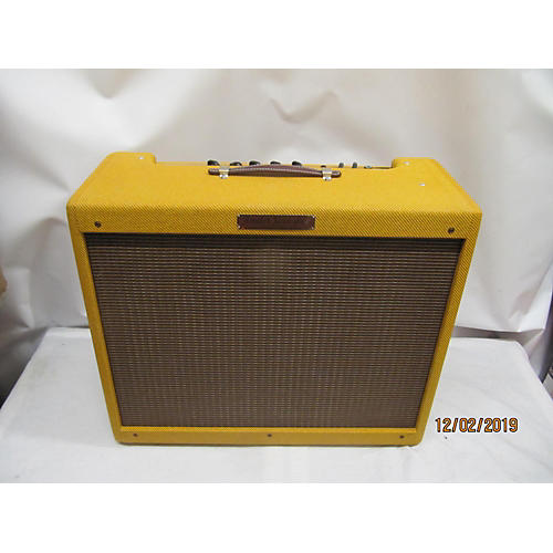 used fender 1957 reissue twin 40w 2x12 tweed tube guitar combo amp guitar center. Black Bedroom Furniture Sets. Home Design Ideas
