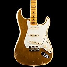 Fender Custom Shop 1957 Relic Stratocaster Electric Guitar HLE Gold Maple