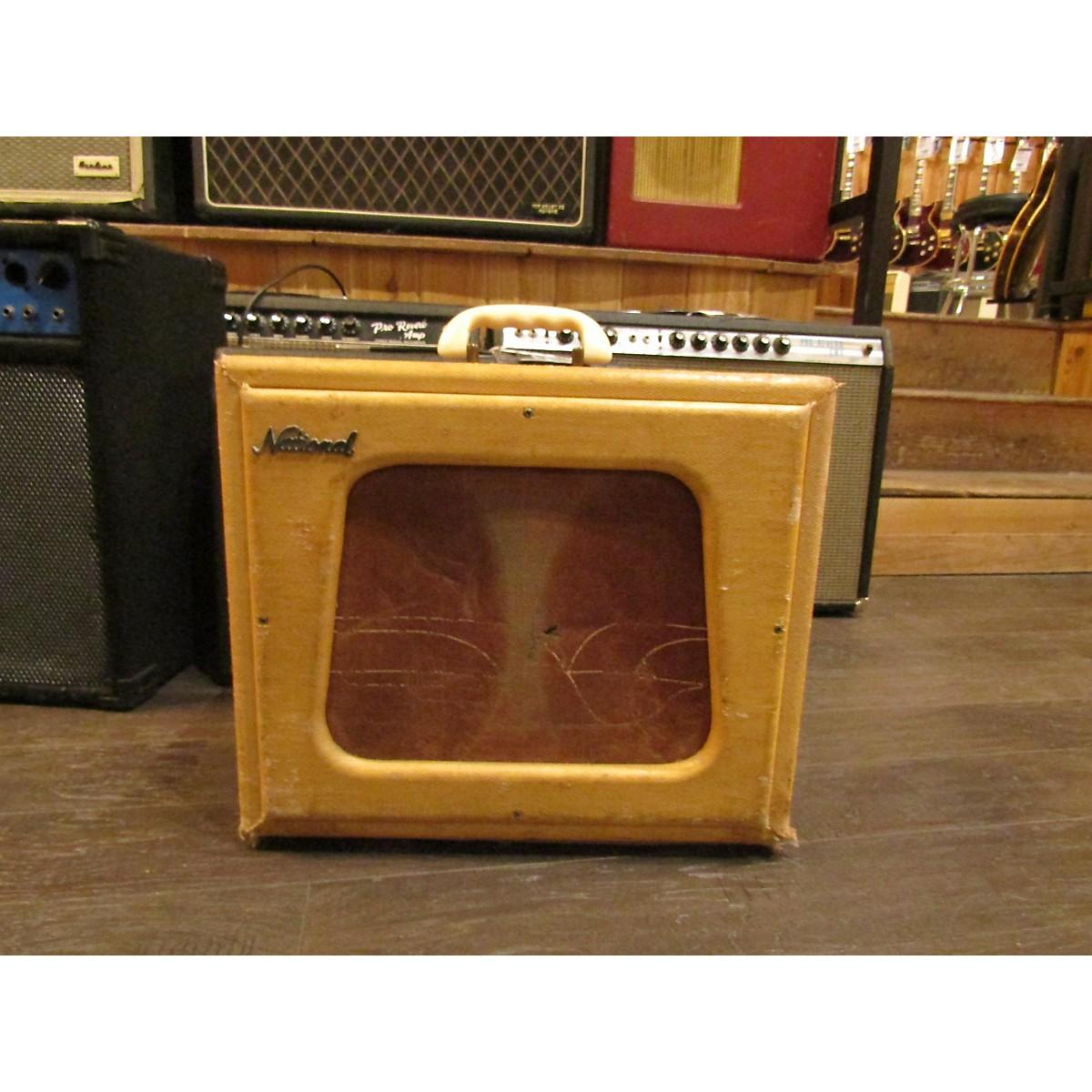 National 1957 Tremtone Tube Guitar Combo Amp