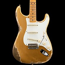 1958 Heavy Relic Stratocaster 2018 NAMM Limited Edition Electric Guitar Aged HLE Gold