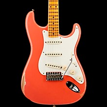 1958 Relic Stratocaster Electric Guitar Super Faded Aged Fiesta Red