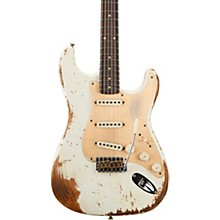 1959 Heavy Relic Stratocaster Limited Edition Electric Guitar Aged Olympic White