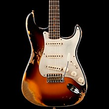 1959 Heavy Relic Stratocaster Limited Edition Electric Guitar Wide Fade 3-Color Sunburst