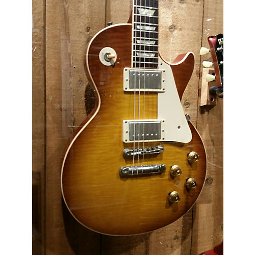 Gibson 1959 Reissue Murphy Aged Les Paul Iced Tea Solid Body Electric Guitar