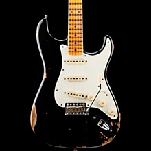 1959 Stratocaster Heavy Relic Maple Fingerboard Electric Guitar Aged Black