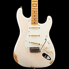 1959 Stratocaster Heavy Relic Maple Fingerboard Electric Guitar Aged White Blonde