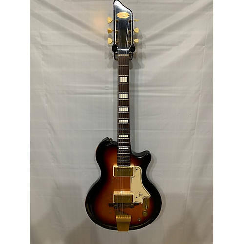 Supro 1959 Val Trol Solid Body Electric Guitar